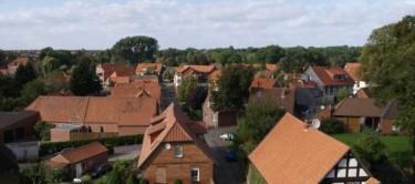 Sicht auf Liebenau